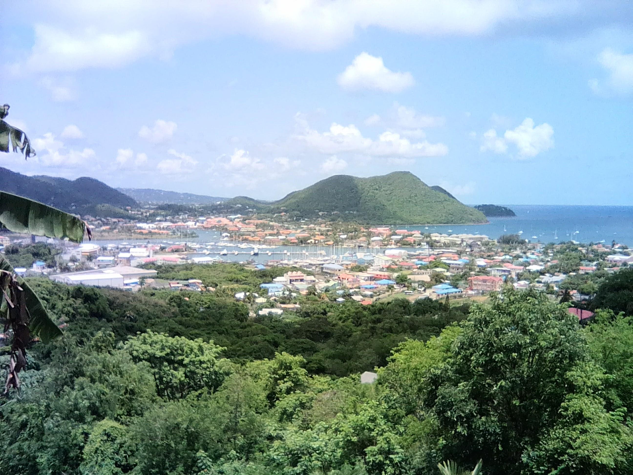 Land with Rodney Bay Marina views