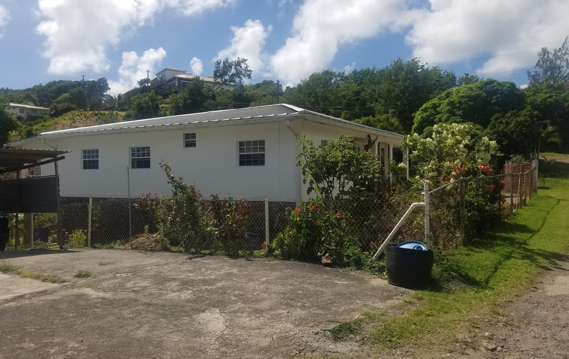 house for sale at morne beau-se-jour st lucia