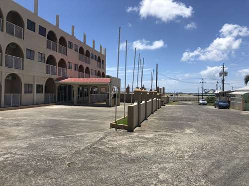 front of HOTEL FOr SALE IN ST LUCIA