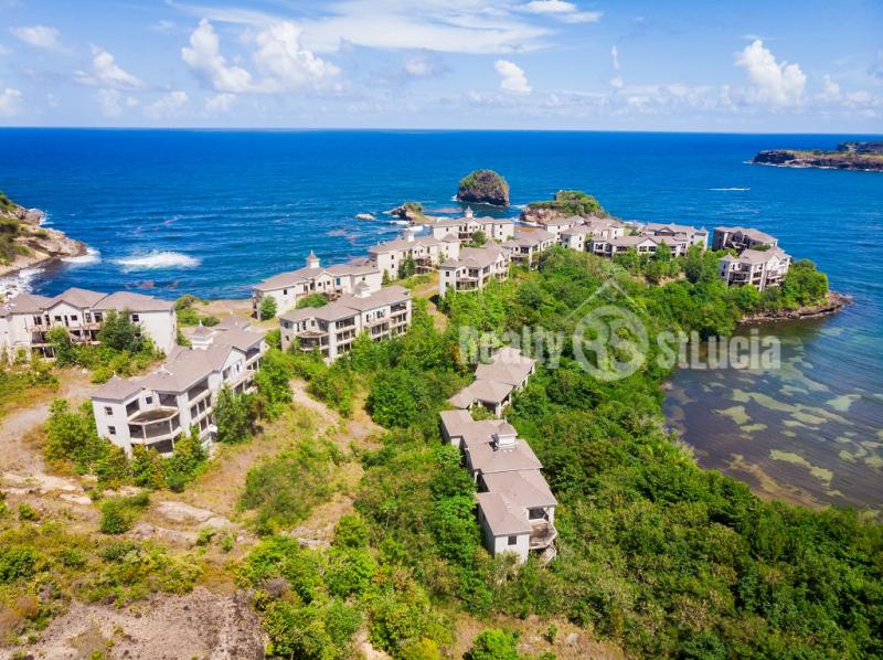 unfinshed resort for sale in st lucia
