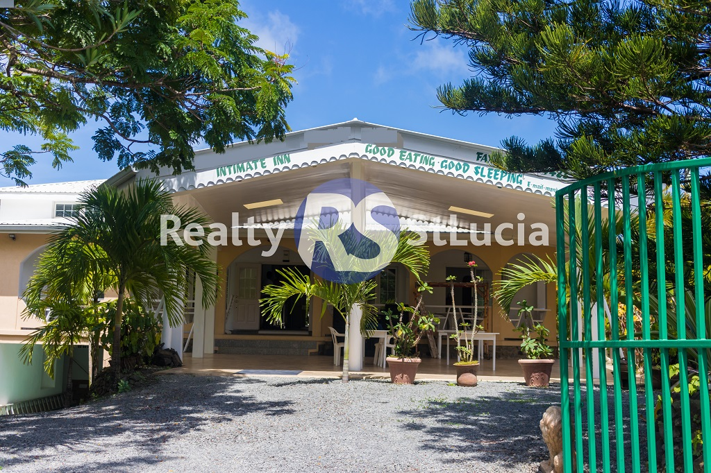 guest house for sale in st lucia