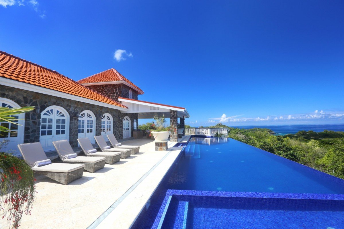 villa atlantis for sale st lucia cap estate
