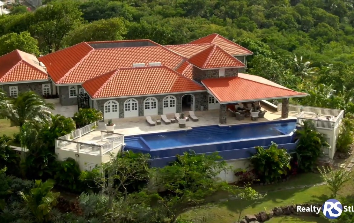 villa atlantis for sale at cap estate saint lucia