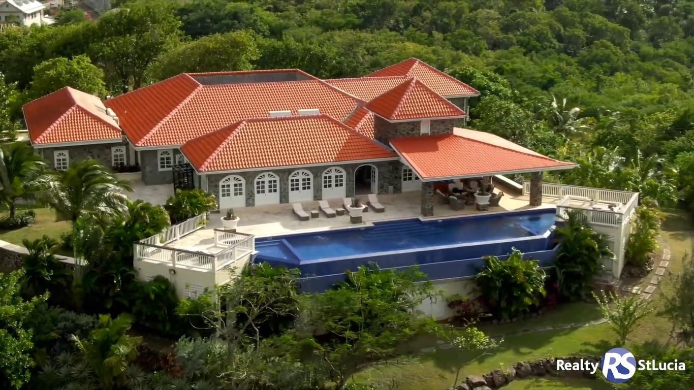 villa atlantis for sale at cap estate saint lucia