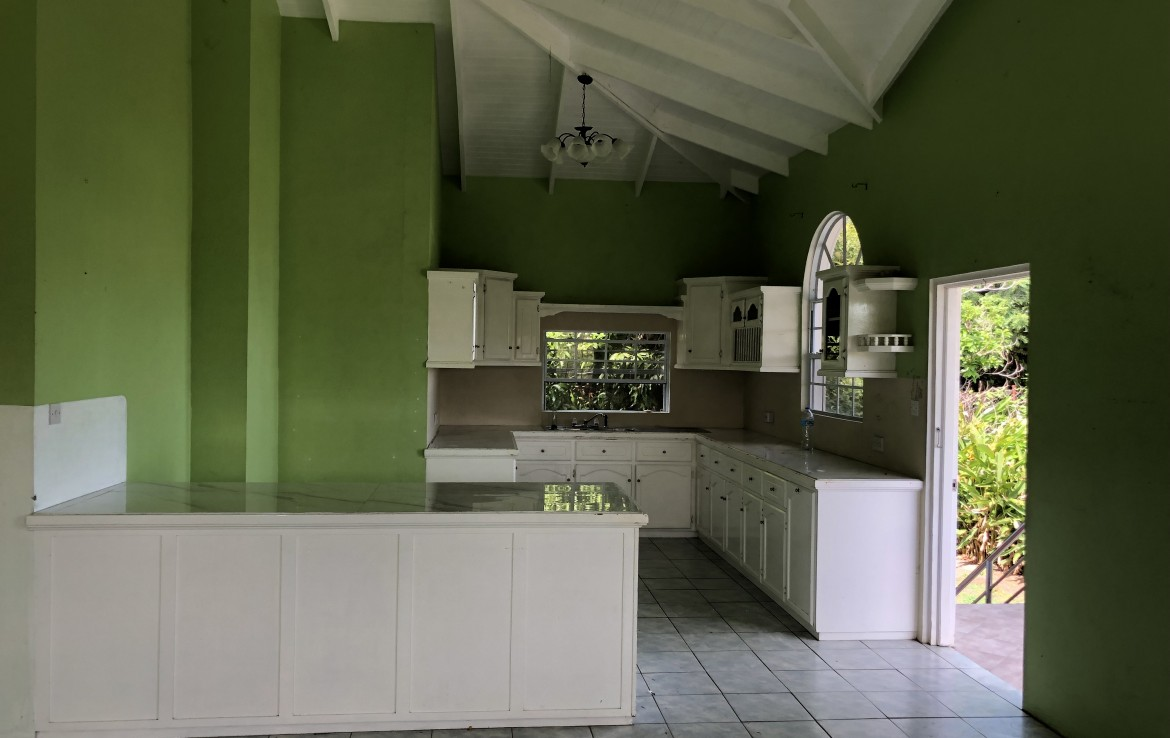 house for sale in Pierrot Vieux Fort kitchen