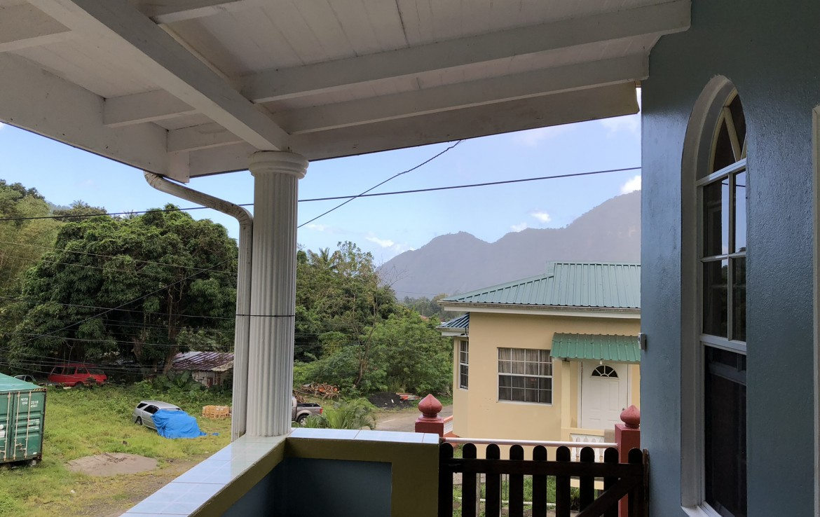 house with apartment in soufriere saint lucia