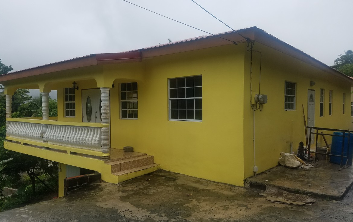 bungalow house for sale in babonneau st lucia