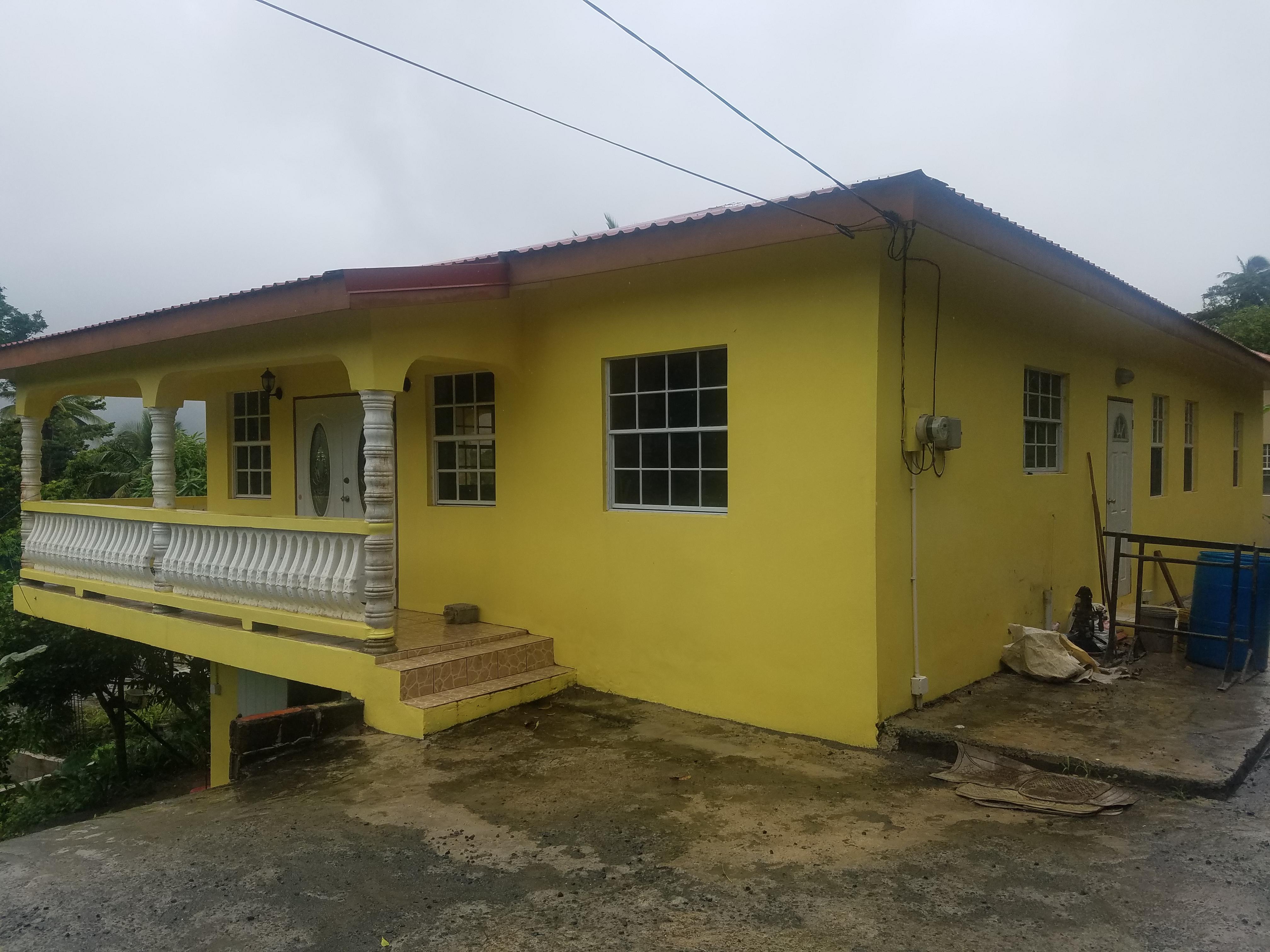 bungalow house for sale in babonneau st lucia