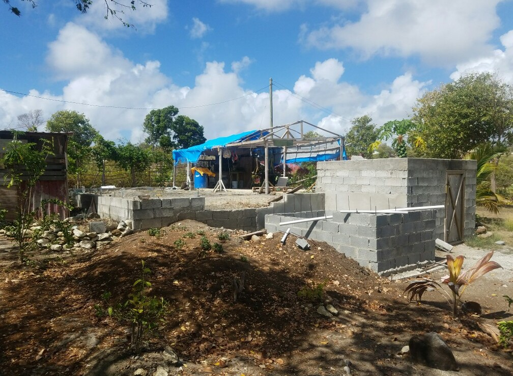 starter house for sale at Canelles Vieux Fort St Lucia