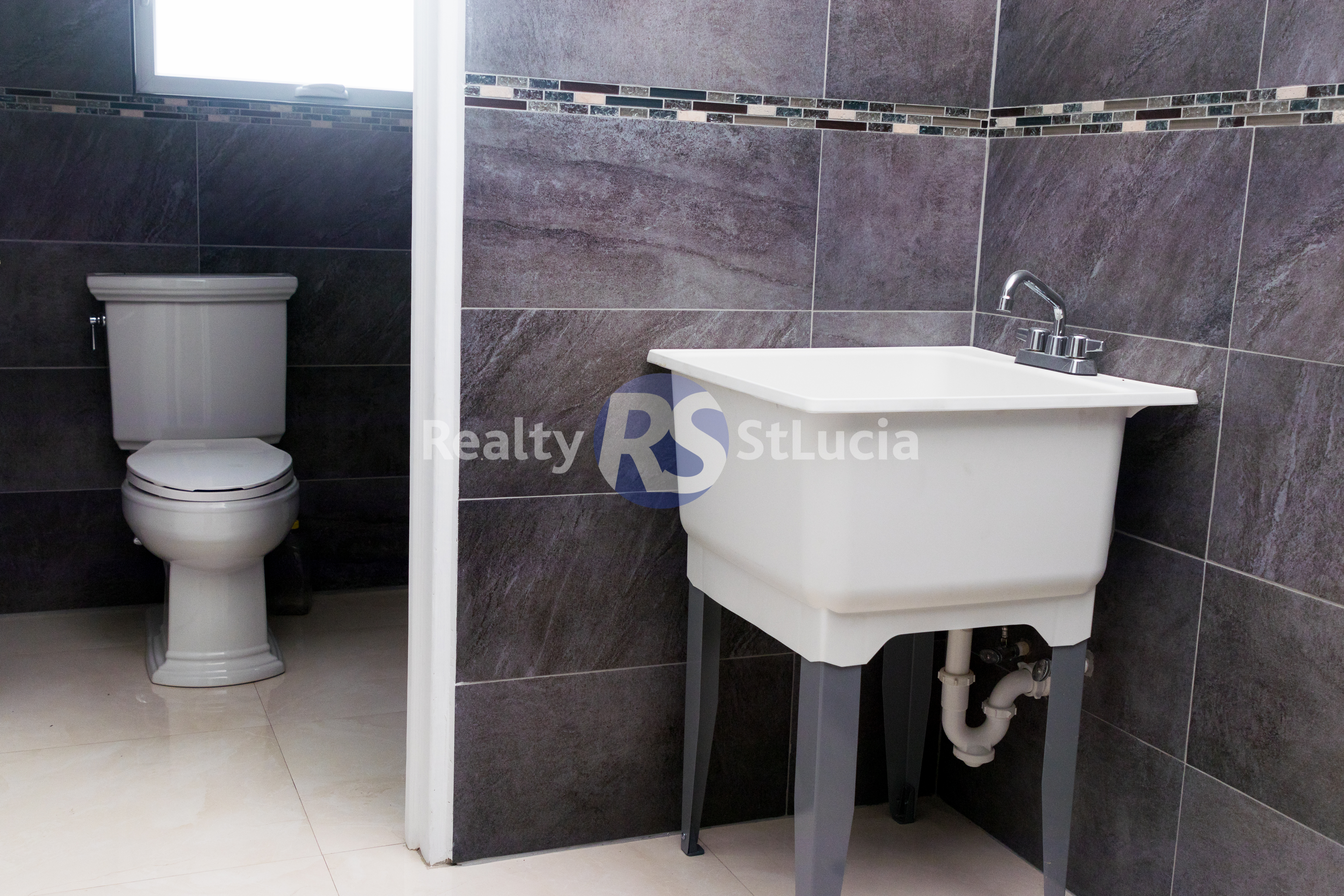 bath room house for sale in vieux fort st lucia