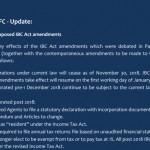 St Lucia IBC Amendment 2018 - 2021