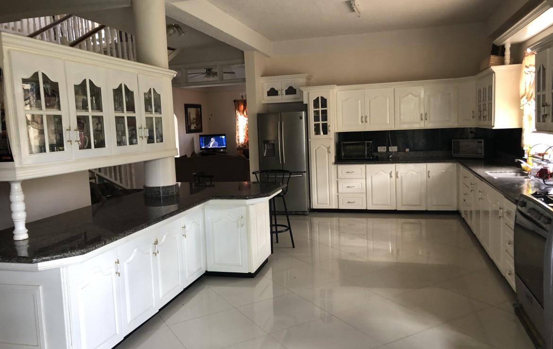 kitchen in house deal choiseul saint lucia