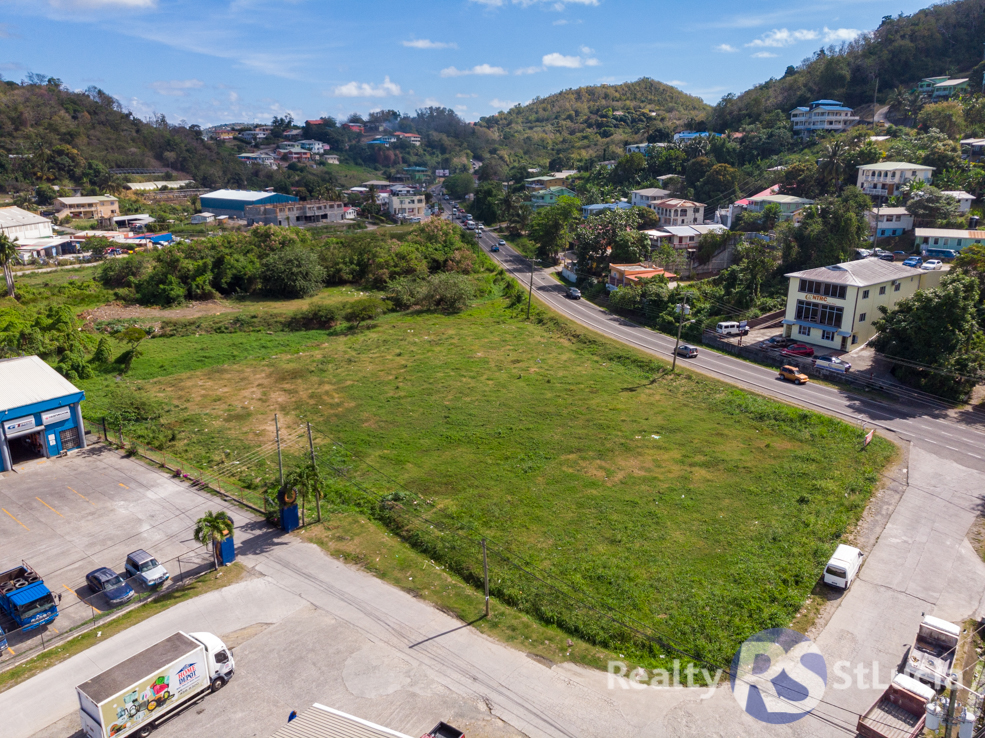 commercial land for sale in st lucia