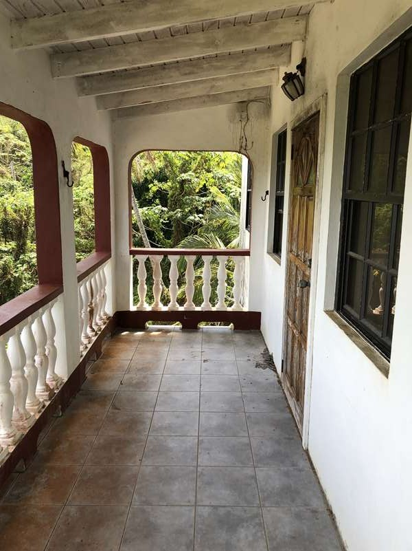 balcony Fixer Upper House For Sale St Lucia, Mon Repos Micoud