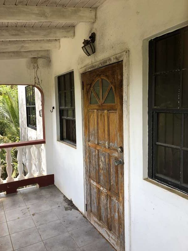balcony of Fixer Upper House For Sale St Lucia, Mon Repos Micoud