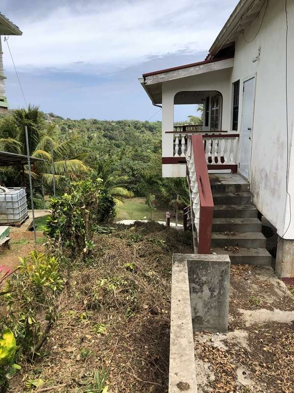 steps Fixer Upper House For Sale St Lucia, Mon Repos Micoud