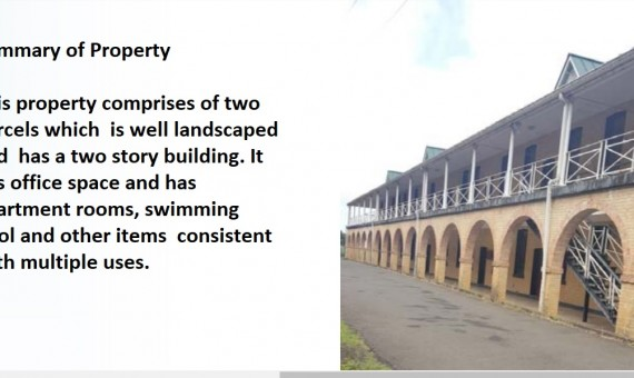 Property for sale on the morne castries St Lucia