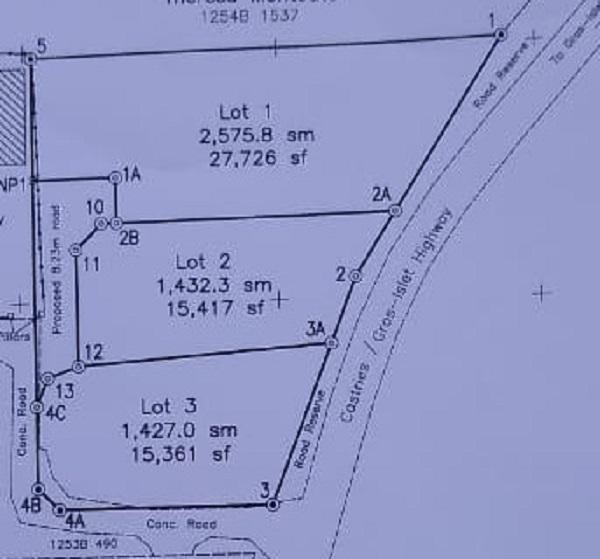 land for sale at bois dorange gros islet