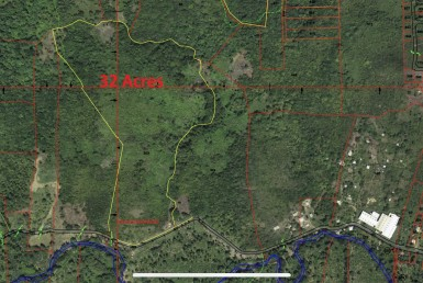 30 acre farm land for sale in st lucia