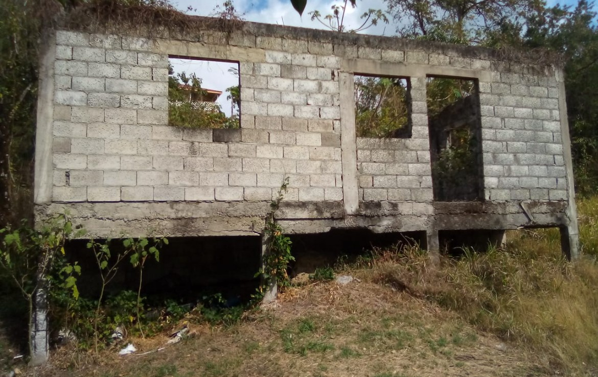 Unfinished project For Sale at Grande Riviere Gros Islet