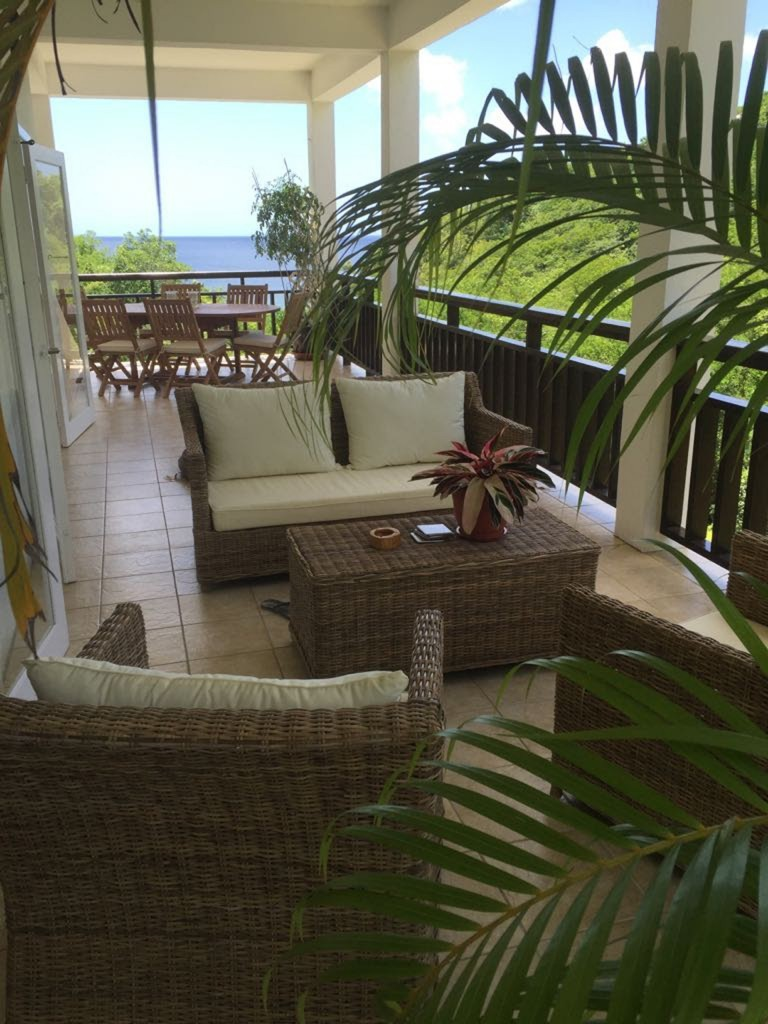 marigot st lucia villa for sale varandah patio