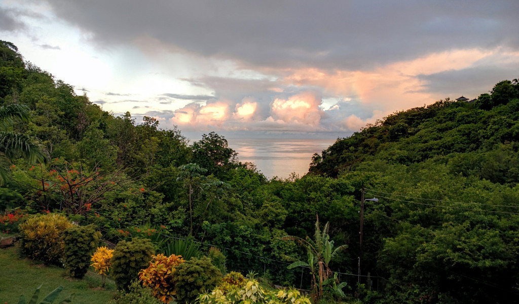marigot st lucia villa for sale sunset
