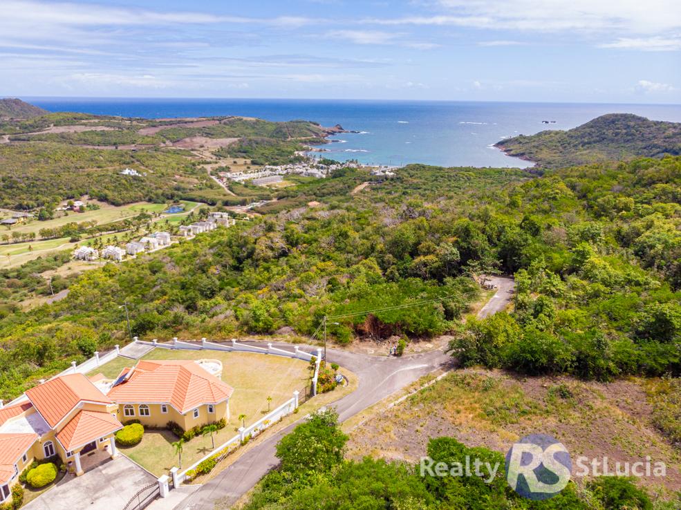 land for sale at south hills cap estate saint lucia