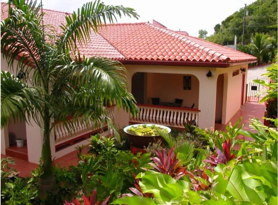 escap st lucia villa for sale front