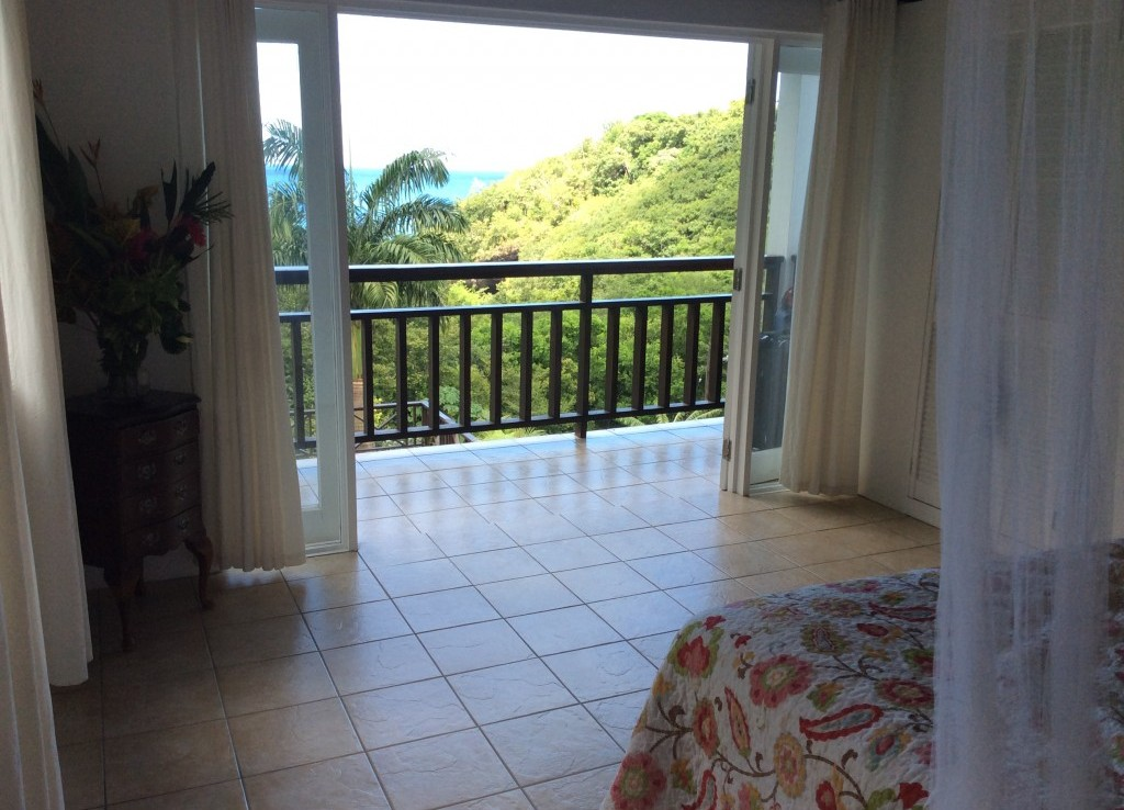 marigot st lucia villa for sale bedroom view
