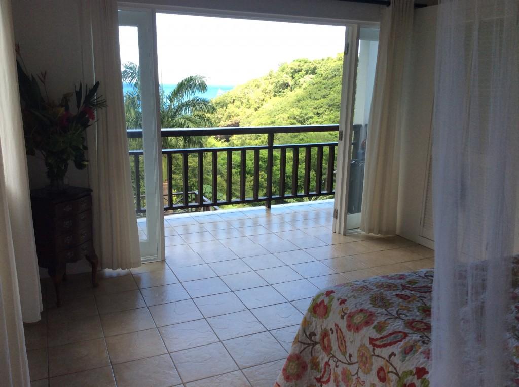 marigot st lucia villa for sale bedroom view