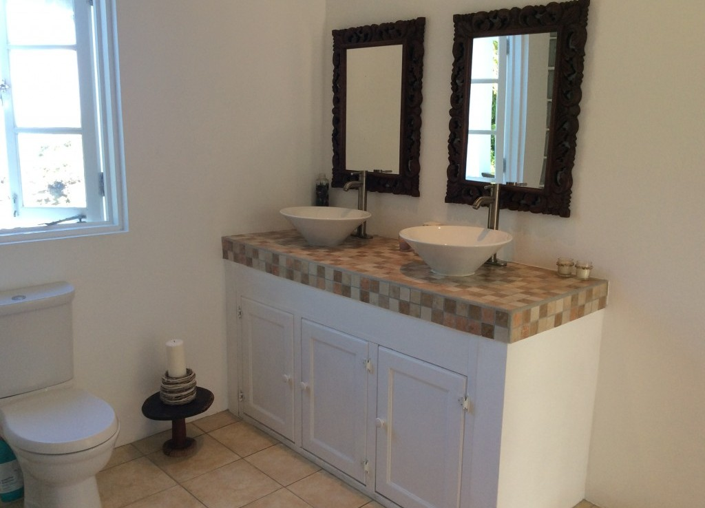 marigot st lucia villa for sale master bathroom
