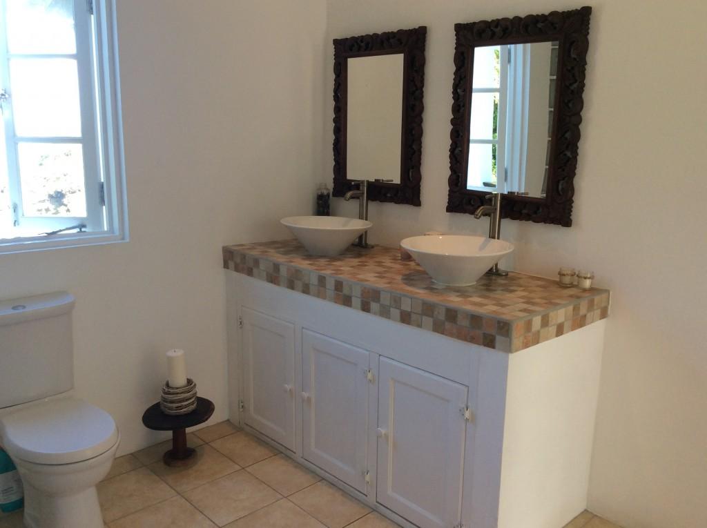 marigot st lucia villa for sale master bathroom