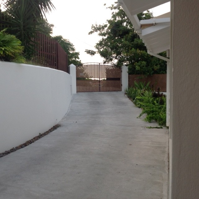 ocean view of land for sale at cap estate st lucia