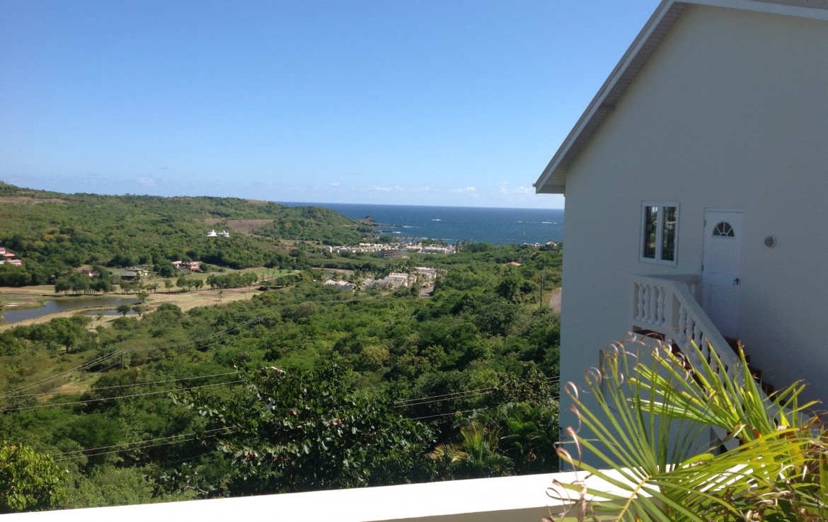 property for sale at cap estate with pool and golf course view