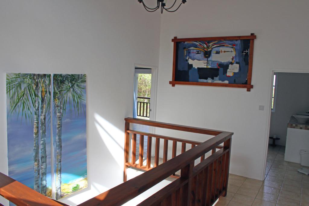 marigot st lucia villa for sale staircase 2