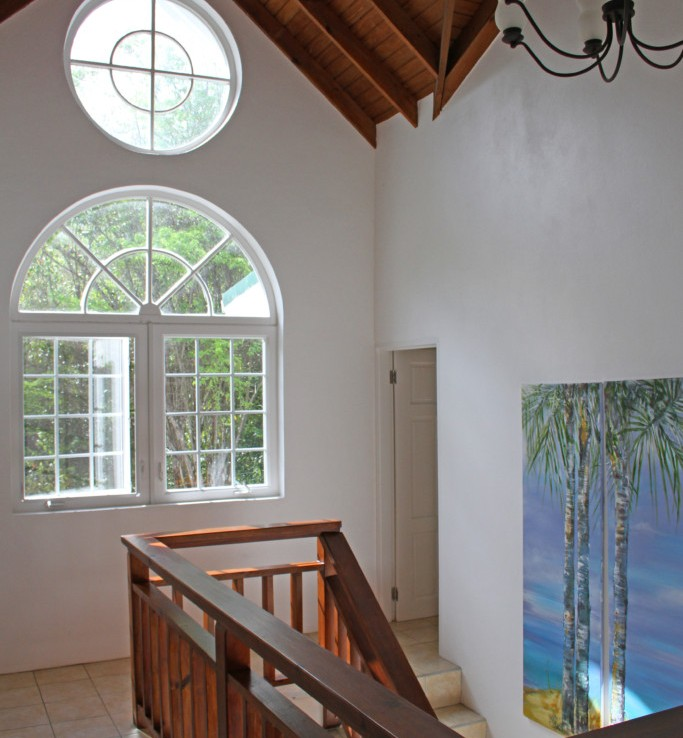 marigot st lucia villa for sale staircase