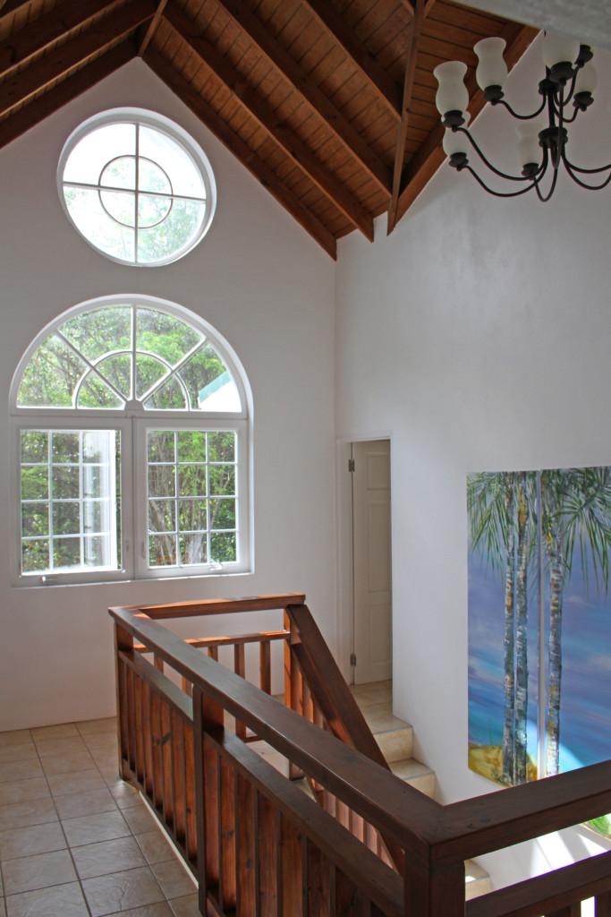 marigot st lucia villa for sale staircase