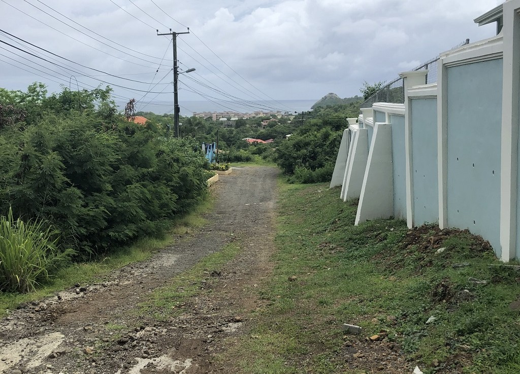 land for sale at Cap Estate St Lucia