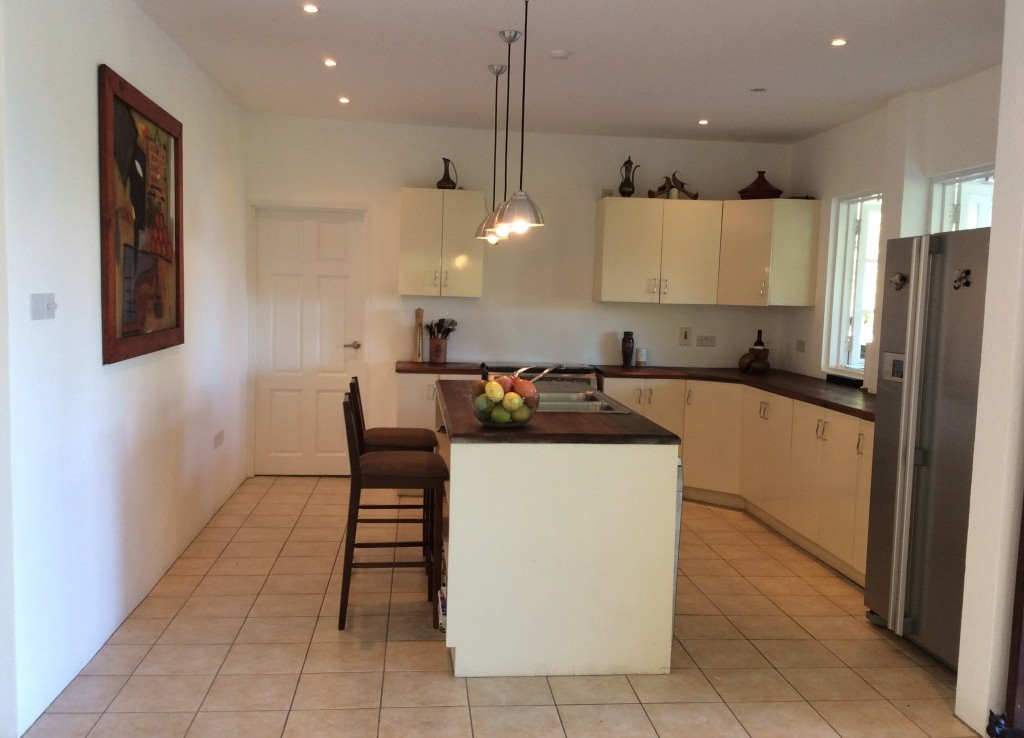marigot st lucia villa for sale kitchen
