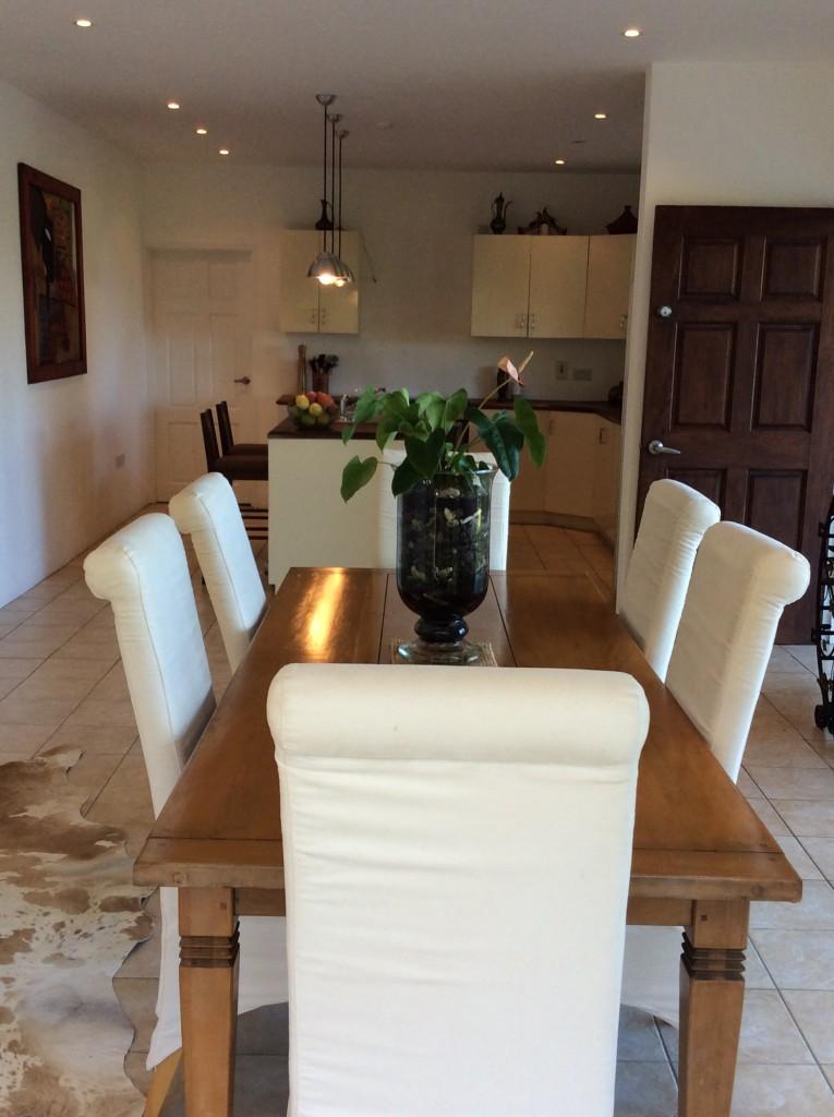 marigot st lucia villa for sale dining
