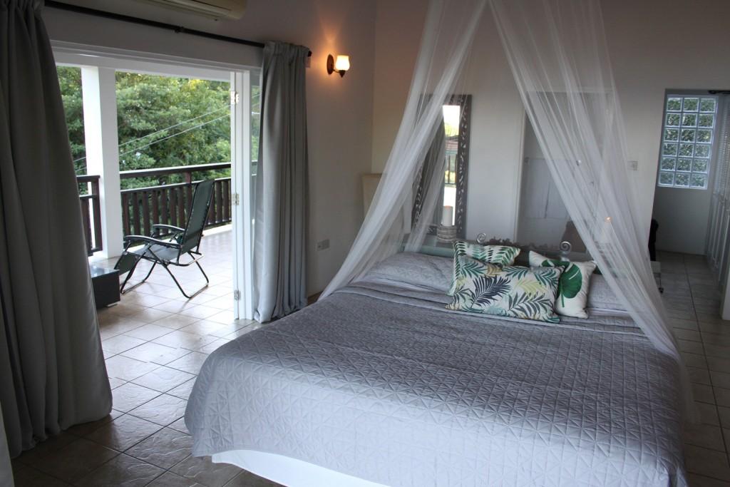 marigot st lucia villa for sale bedroom 2
