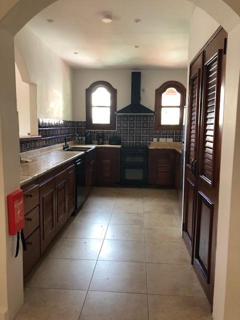villa for sale at Cap Maison kitchen