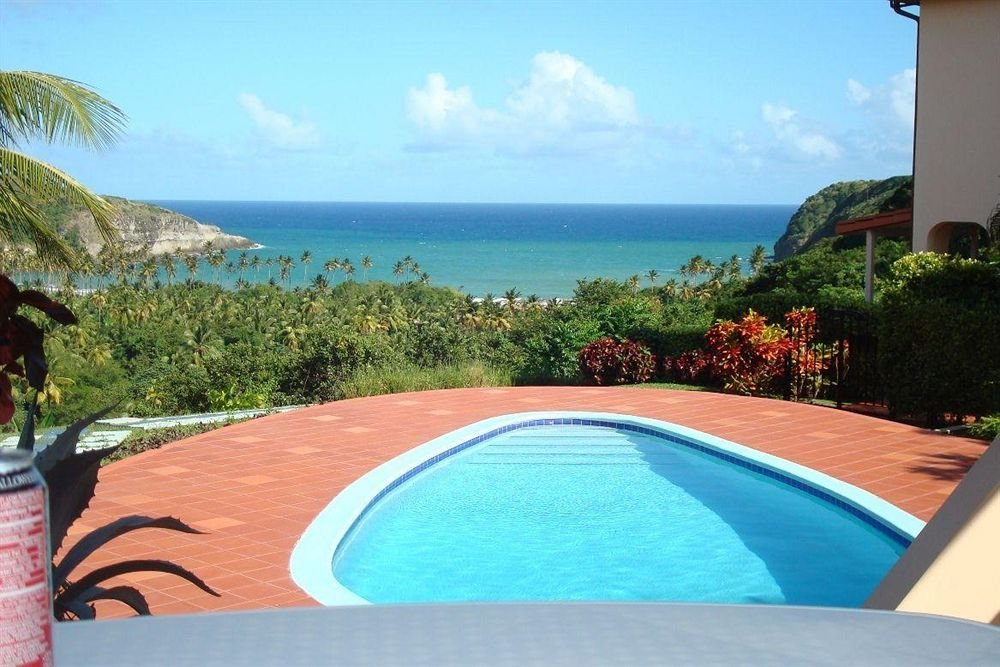 villa for sale in micoud st lucia pool view