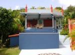 villa at Escap for sale pool on estatern side deck