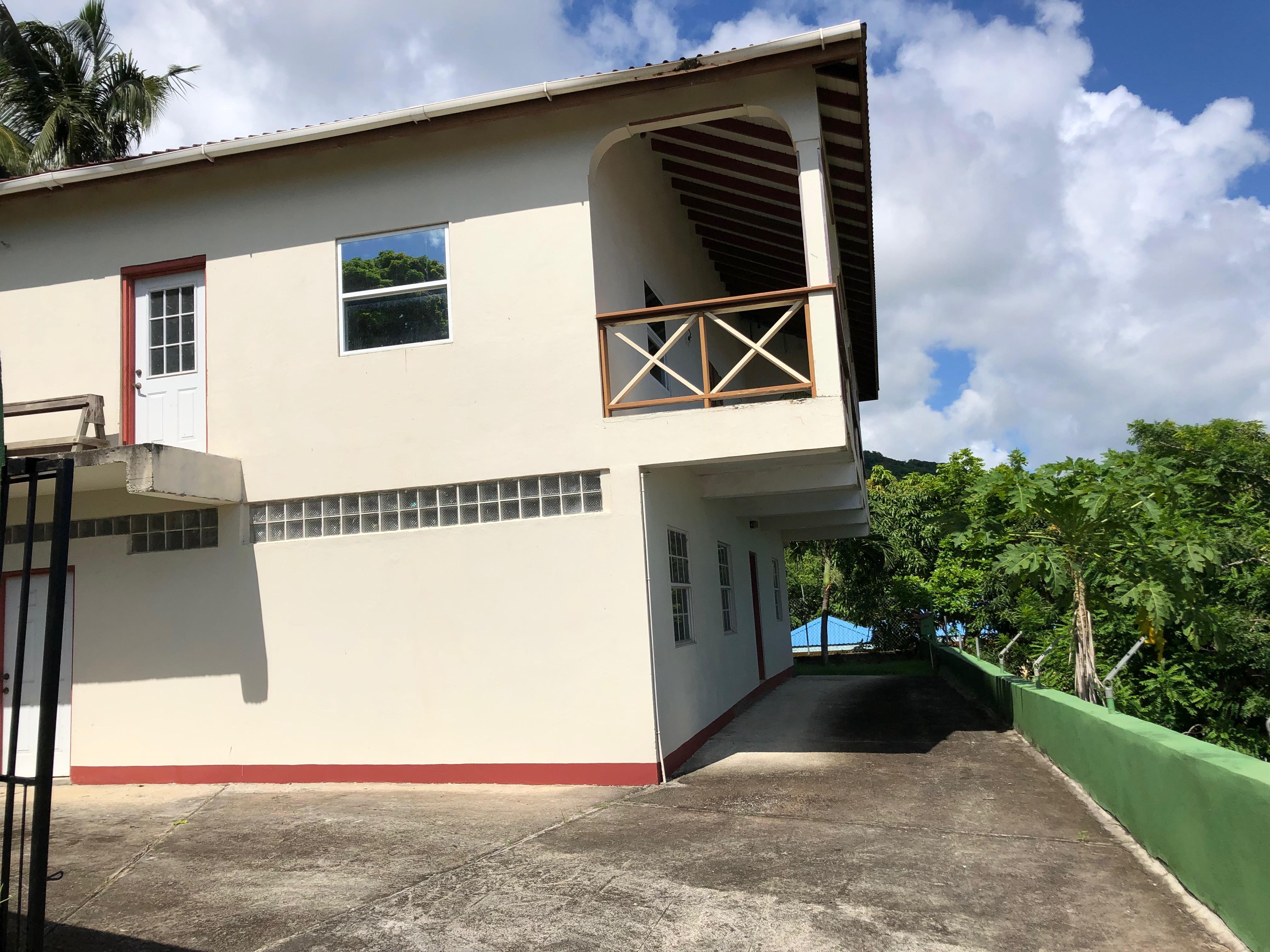 HOUSE FR SALE in laborie saint ucia caribbean