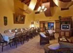 Capri dining room with TV corner