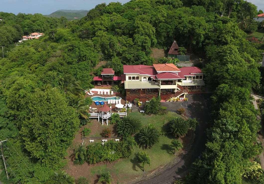 10 bedroom Villa / Hotel at Cap Estate St Lucia