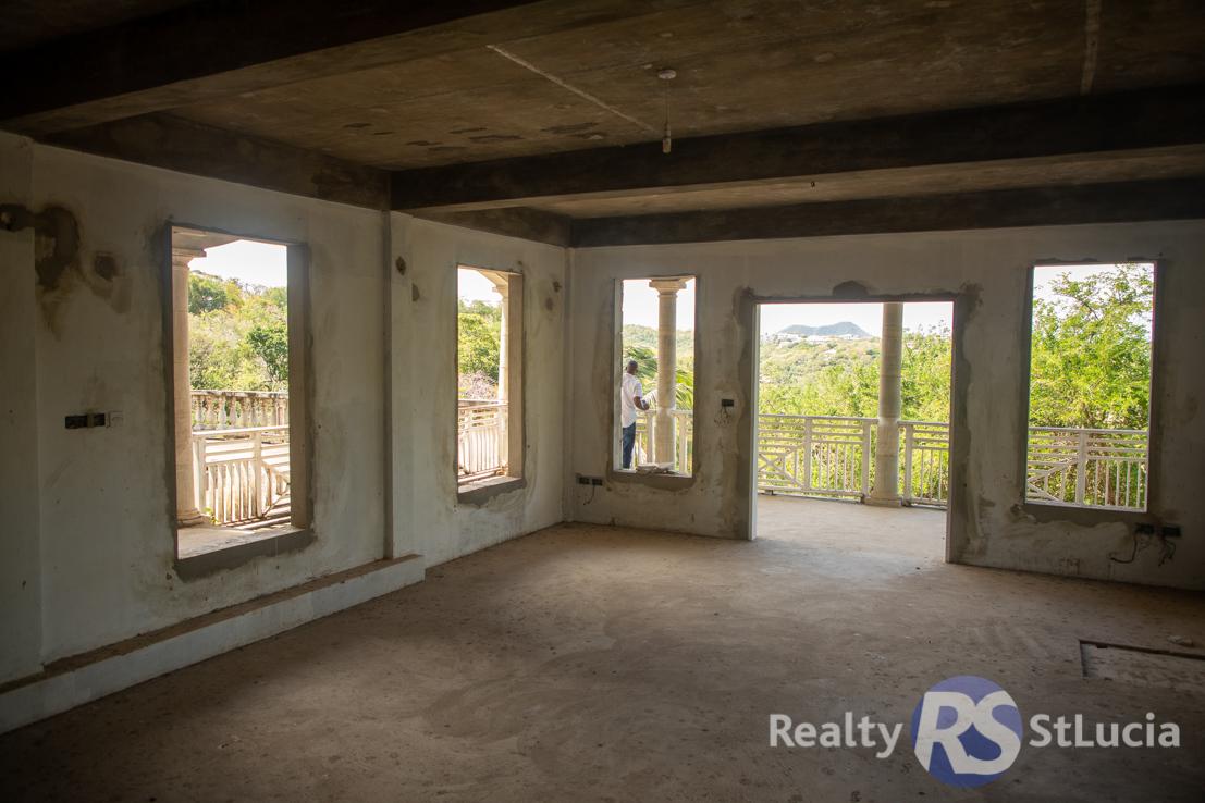 real estate for sale in st lucia villa
