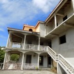 7 Bed Un-Finished House at Golf Park Cap-Estate Saint Lucia