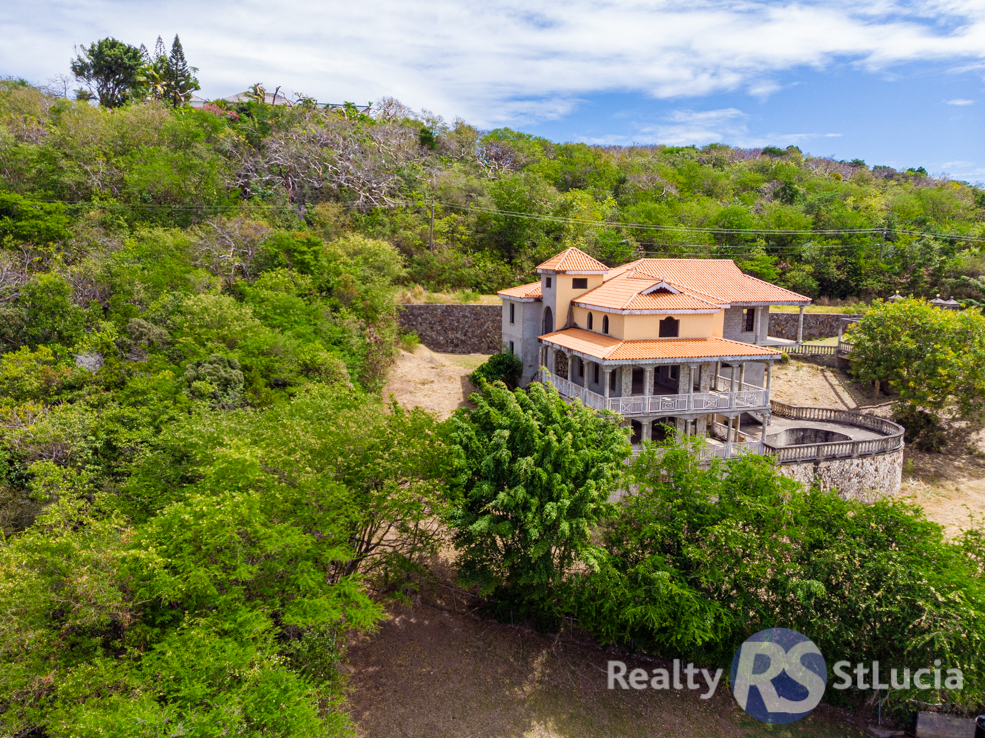 st lucia real estate for sale unfinished villa